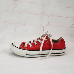Converse All Star red womens 6 mens 4